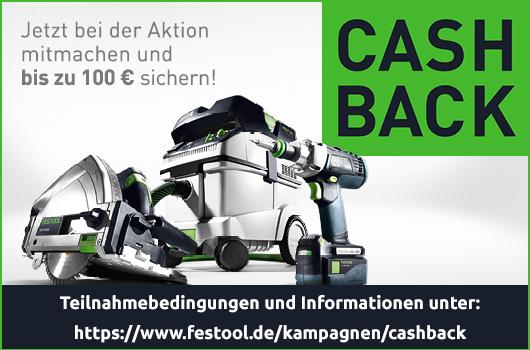 Festool Cashback